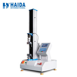 Single Column Rubber Tensile Testing Machine / Bending Test Machine Panasonic Servo Motor